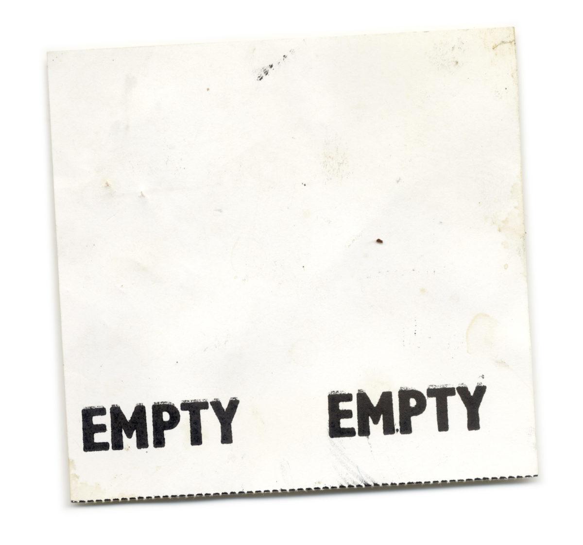 Empty Empty