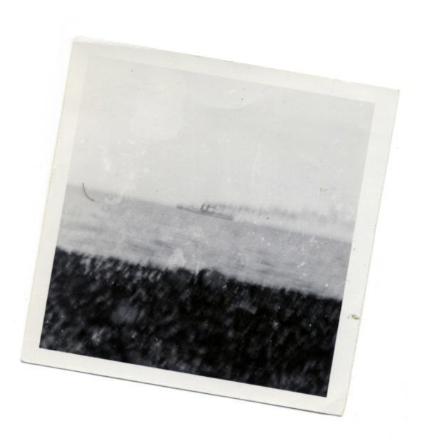 Caernarvon Listing Inweymouth Bay After Stuka Attack On Convoy In Channel 1940