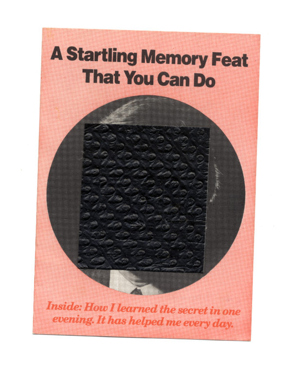 A Startling Memory Fear That You Can Do